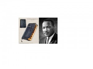 MLK and his Bible