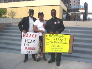 NAACP Protest