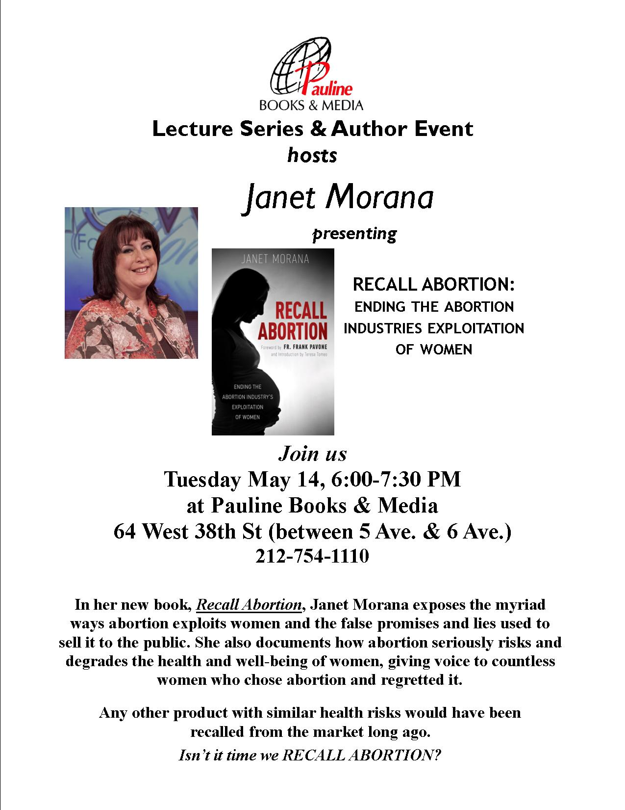 Author Event Recall Abortion