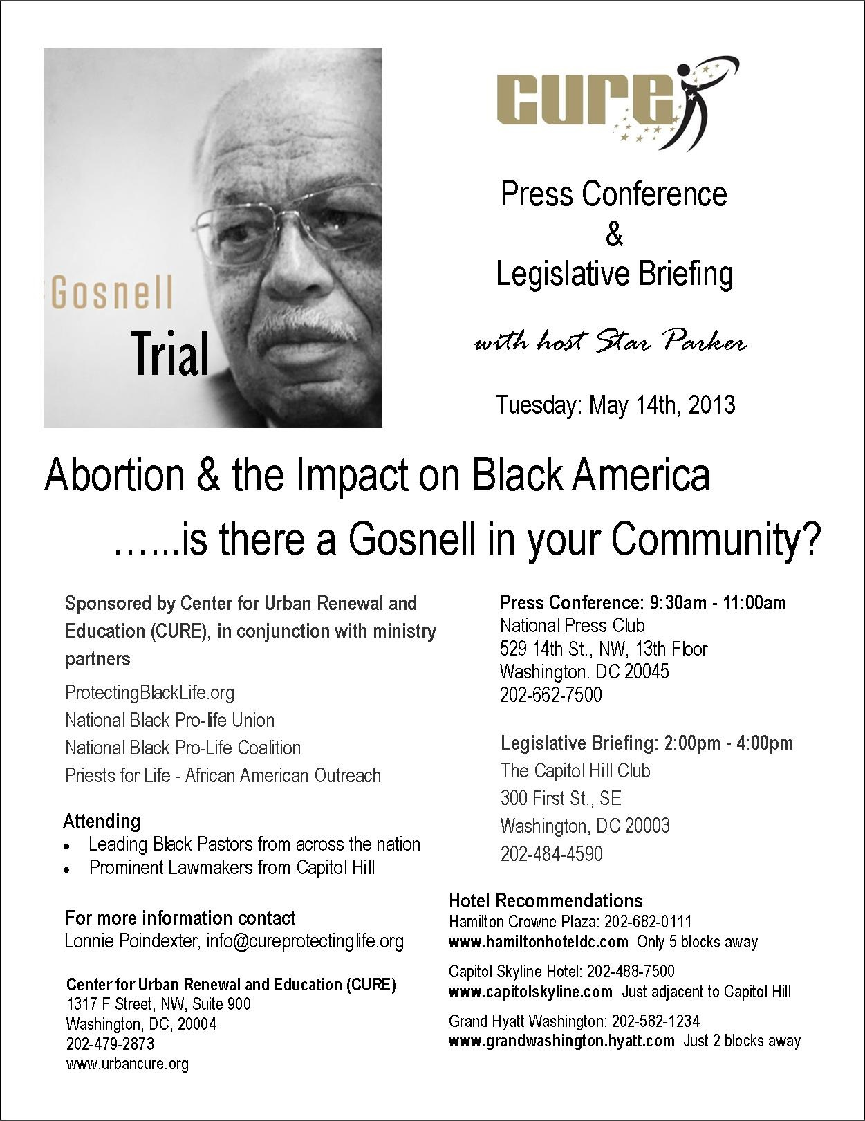 CURE Gosnell Flyer - Final