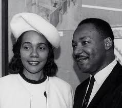 Martin and Coretta King