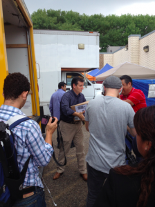 Sen. Ted Cruz helping at the border