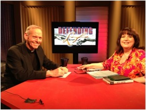 "Father Denis Wilde, OSA, and Janet Morana are the co-hosts of EWTN's ""Defending Life"" series. The new season debuts March 4."