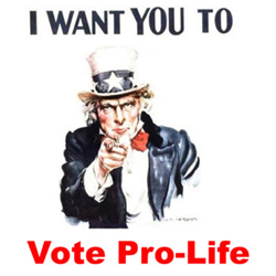 Vote Pro-life Uncle Sam