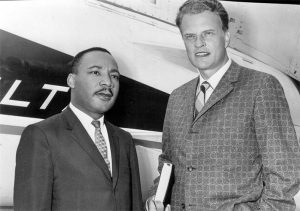 MLK with Billy Graham